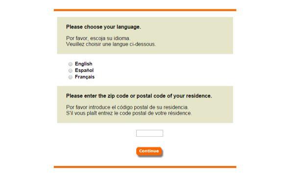 Home Depot Survey Page screenshot