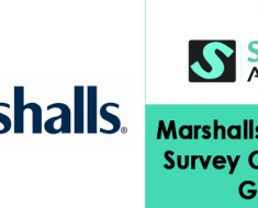 Marshalls Feedback Survey Completion Guide