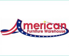 american furniture warehouse survey logo
