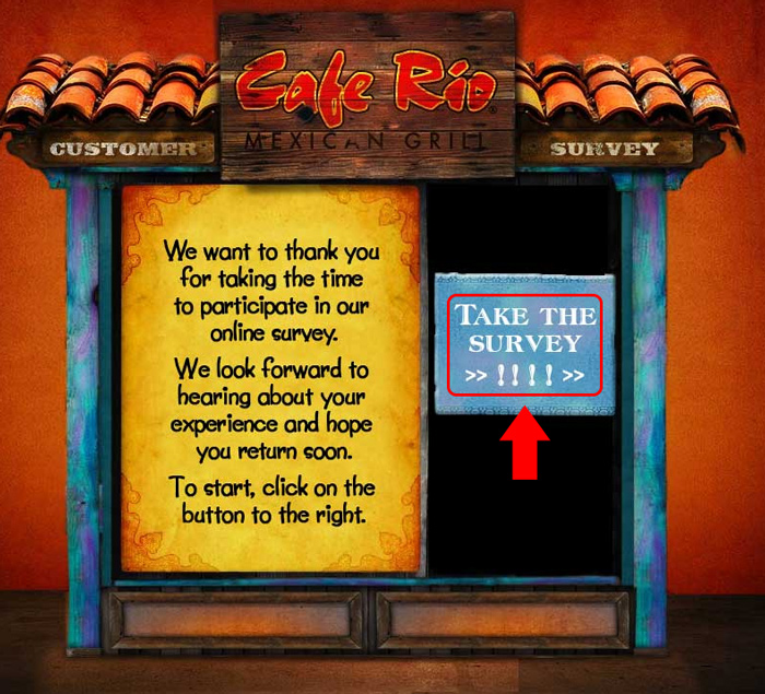 cafe rio customer survey