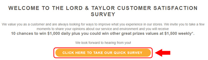 lord and taylor survey