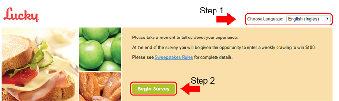 lucky supermarket survey